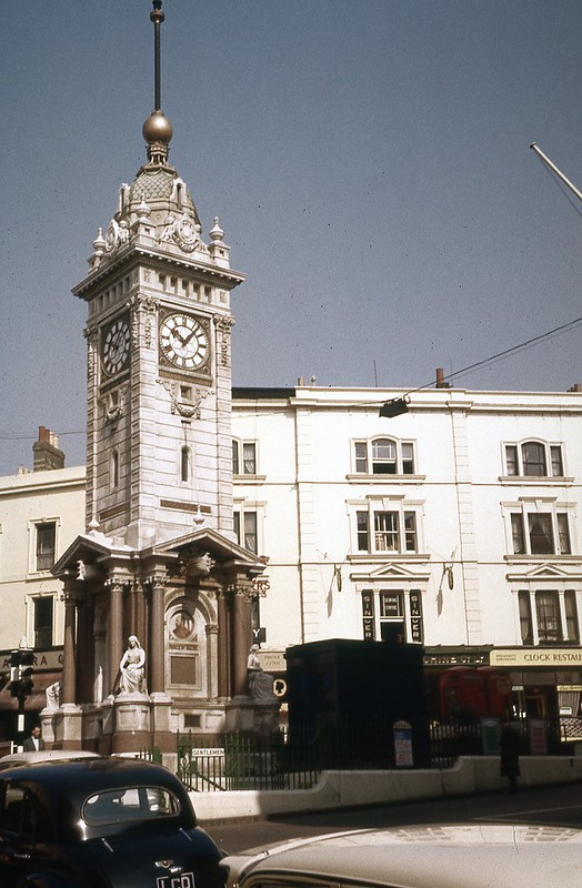 Jubilee Clock tower, Brighton, 1959