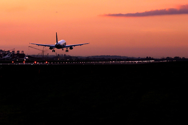 Sunset Arrival