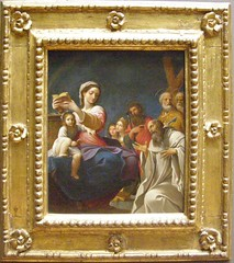 Ludovico Carracci, Madonna and Child with Saints, 1607