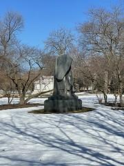 Winter Graceland Cemetery