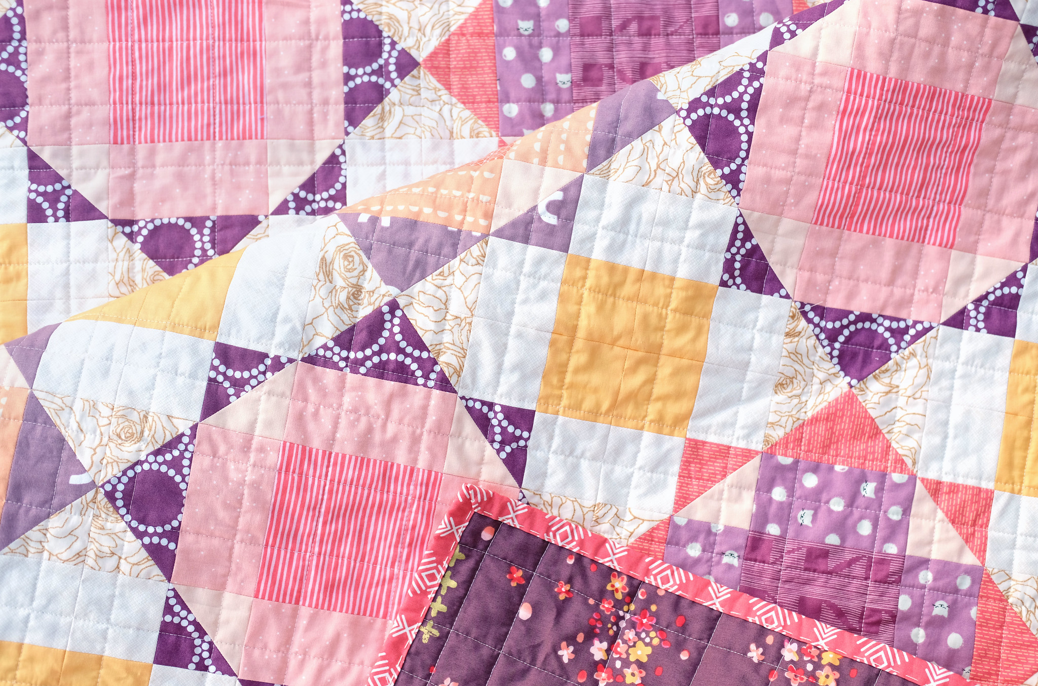 The Naomi Quilt - Baby Size