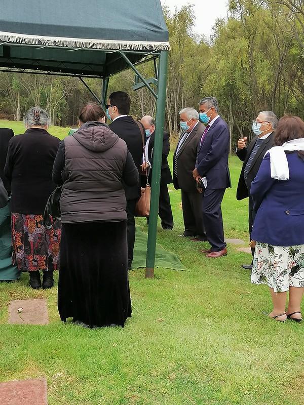 Funeral de Pastor Presbítero Ismael Pino Pino.