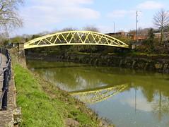 Banana Bridge over the River Avon in Bristol