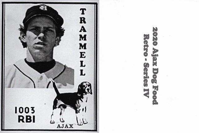2020 Ajax Dog Food Retro Alt Back - Trammell, Alan3