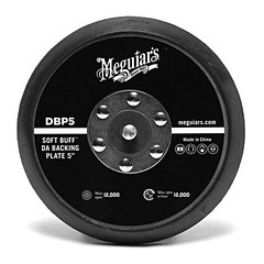 Meguiar's Soft Buff Backing Plate 5'' for Dual Action Polisher