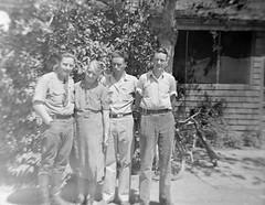 William Riley Funk, Alta Perl Funk, Alfred Halan Funk, Lew Funk