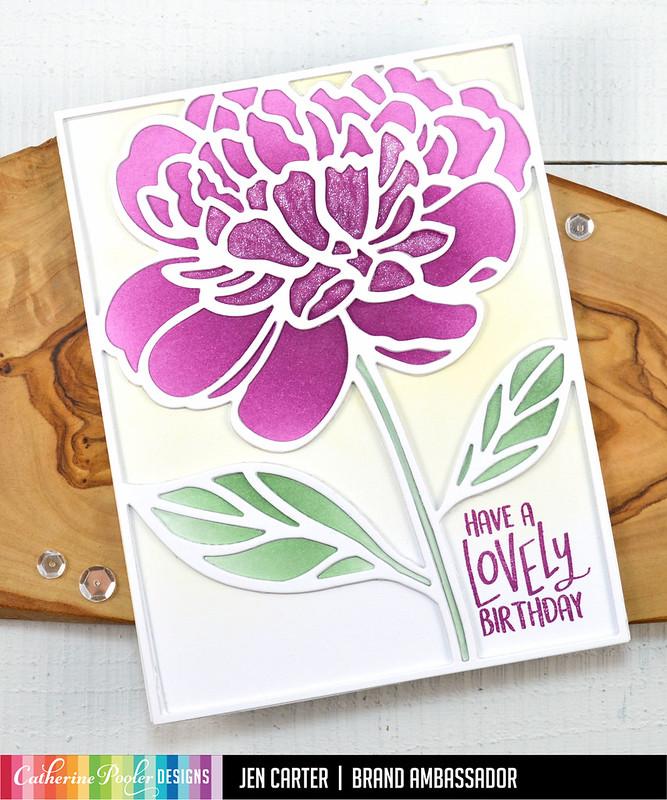 Jen Carter Peony in Bloom Lovely Day