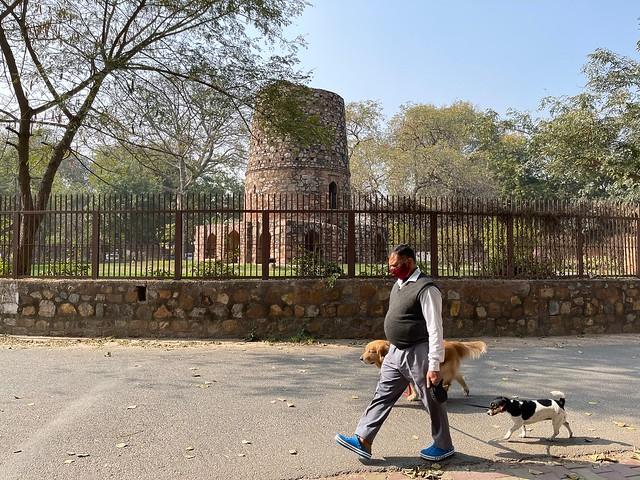 City Monument - Chor Minar, Hauz Khas Enclave