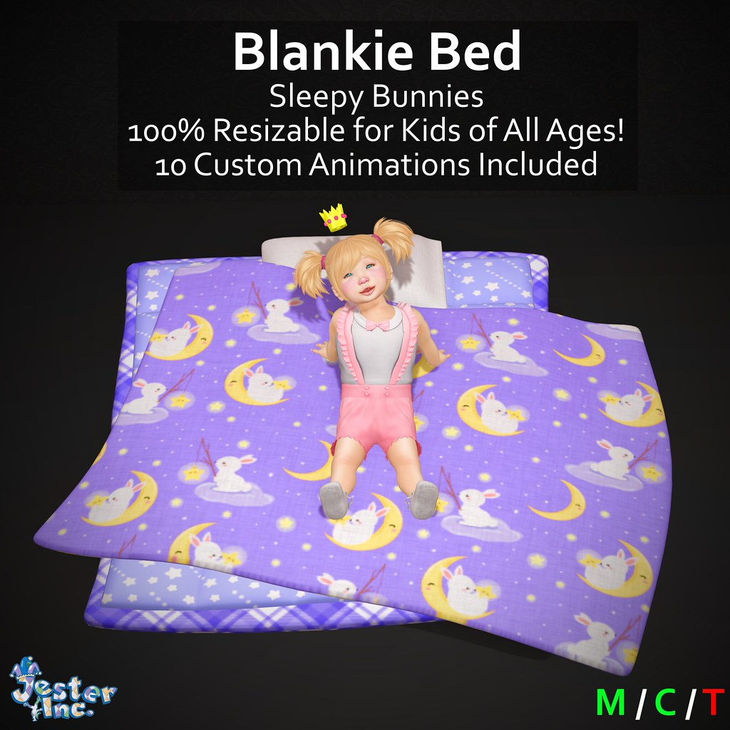 Presenting the new Blankie Beds from Jester Inc.
