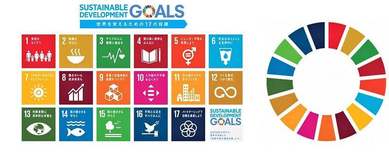 SDGsロゴマーク(国連広報センターHPより)