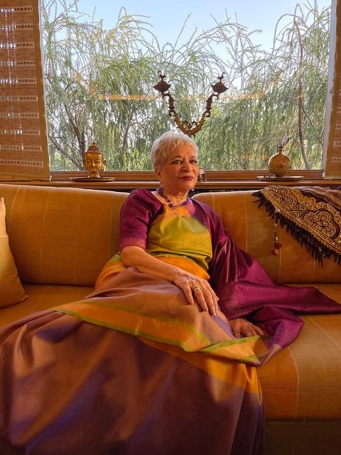 Home Sweet Home - Laila Tyabji's Window, Shanti Niketan
