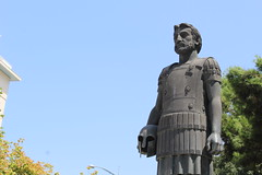 Statue of Philip II at Thessaloniki