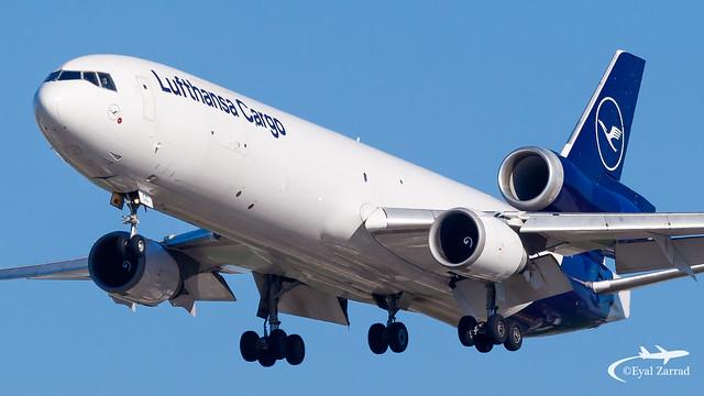 TLV - Lufthansa Cargo MD-11F D-ALCC