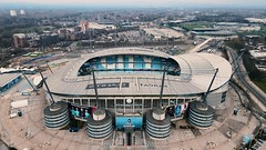 Manchester Derby Day March 2021 - Aerial Drone 4K Footage