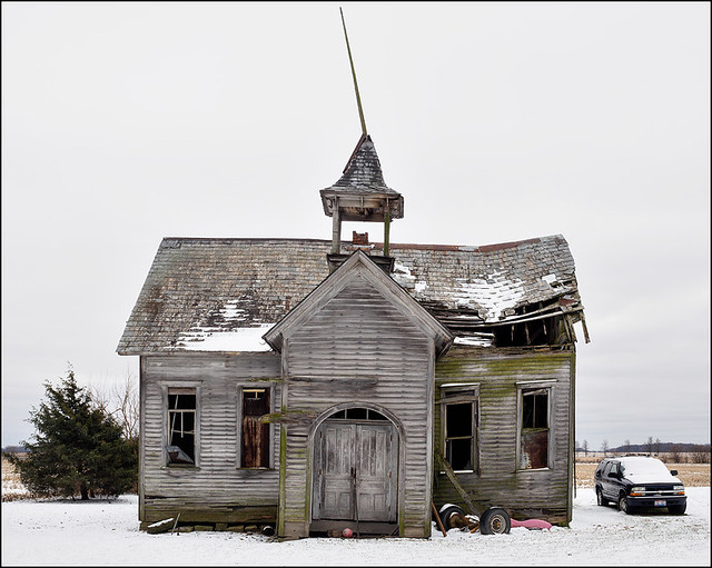 Schoolhouse on Convoy Road #1