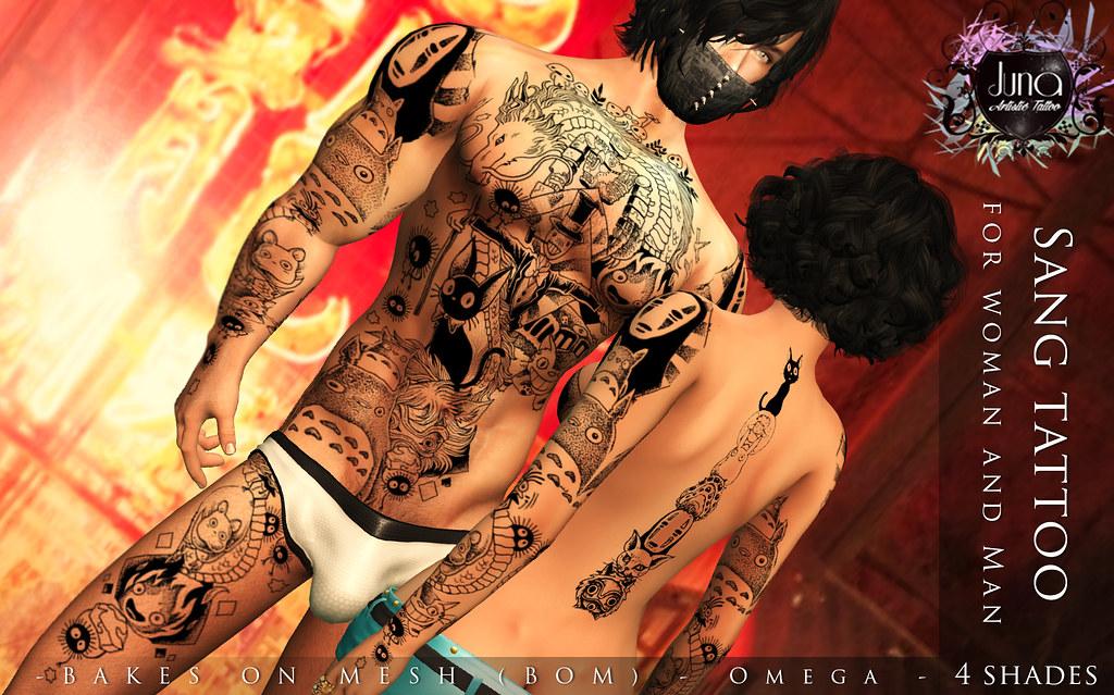 Sang tattoo Unisex