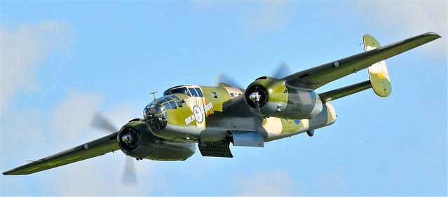 North American B-25 Mitchell bomber Berlin Express SN 43-4432 N10V USAAF