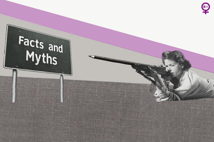 Cinco mitos sobre el feminismo que necesitamos erradicar