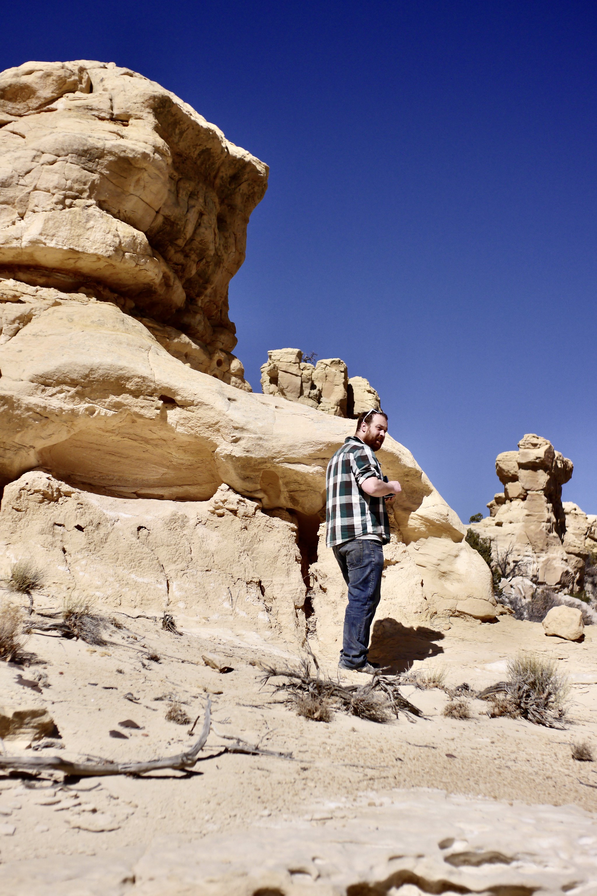 Ethan Moses at Ojito Wilderness