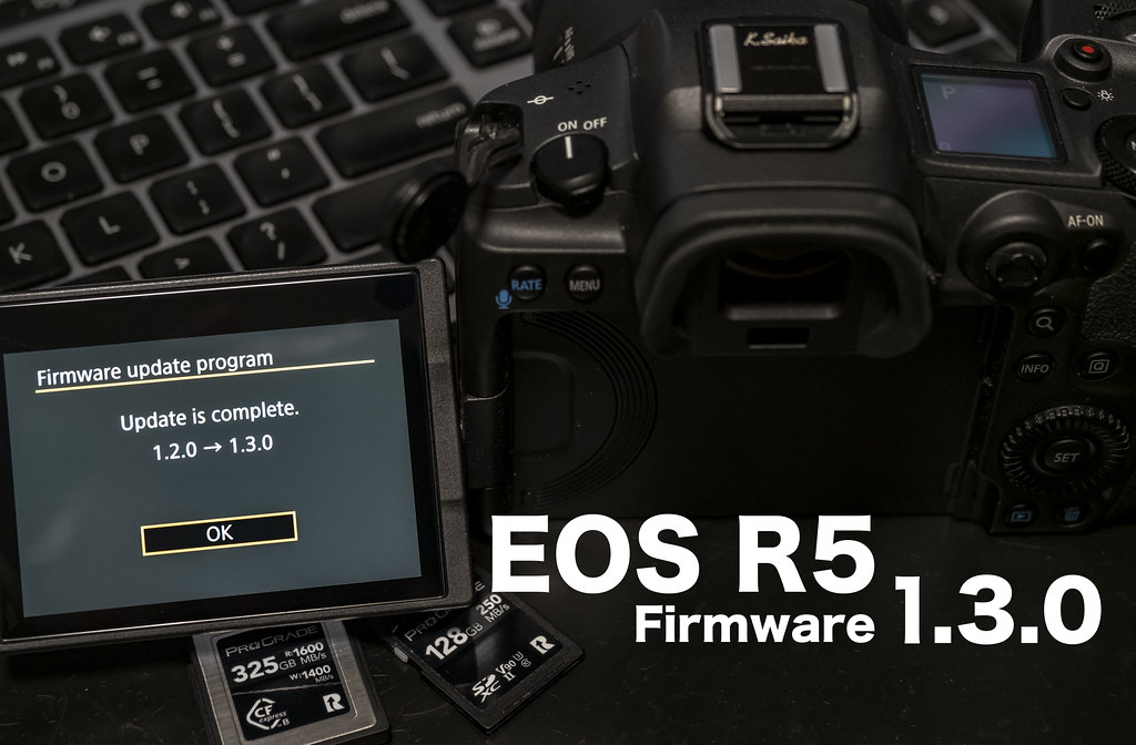 EOS R5 firmware130_01
