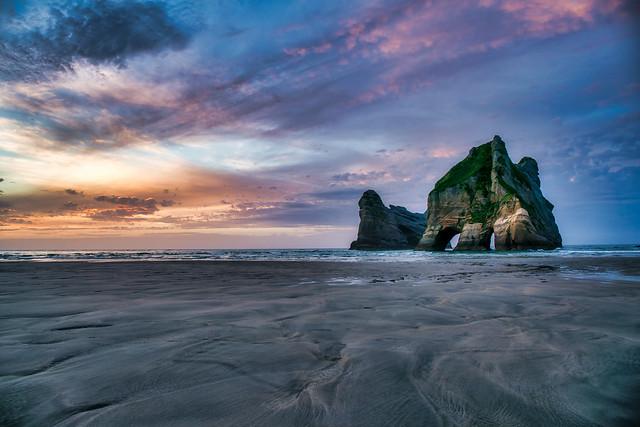 Archway Islands, Wharariki Beach Nelson