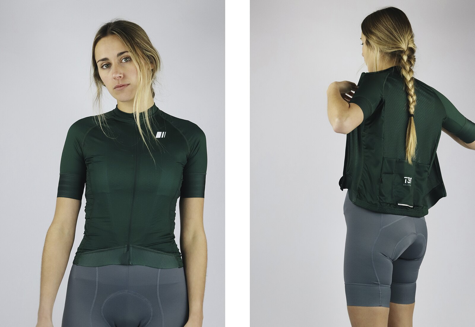 Maillot Pro Team Pine Mujer