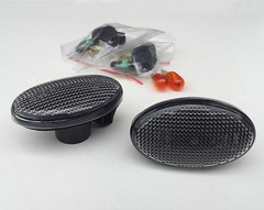Smart Roadster 452 or ForTwo 450 side repeater indicator black