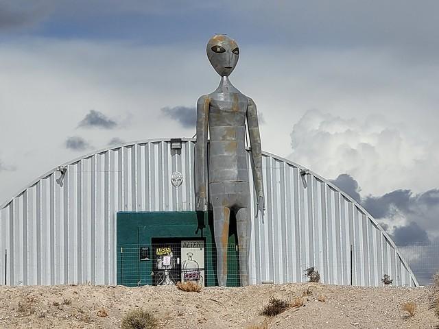 Crystal Springs, NV Extraterrestrial Highway