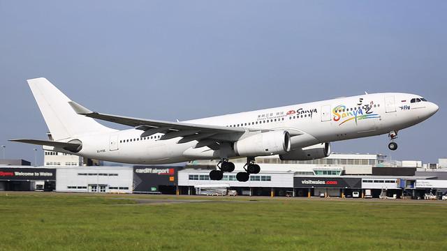 EI-FSE - iFly a332 @ Cardiff Airport 30/03/21