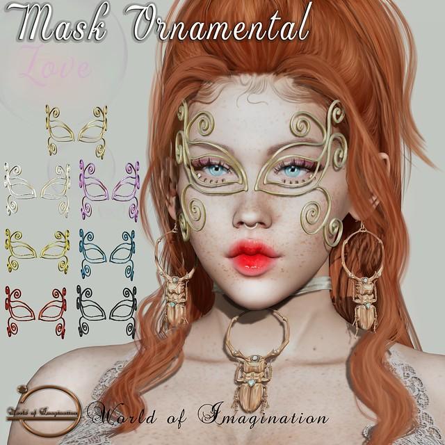 🎁[World of Imagination] Mask Ornamental Group Gift