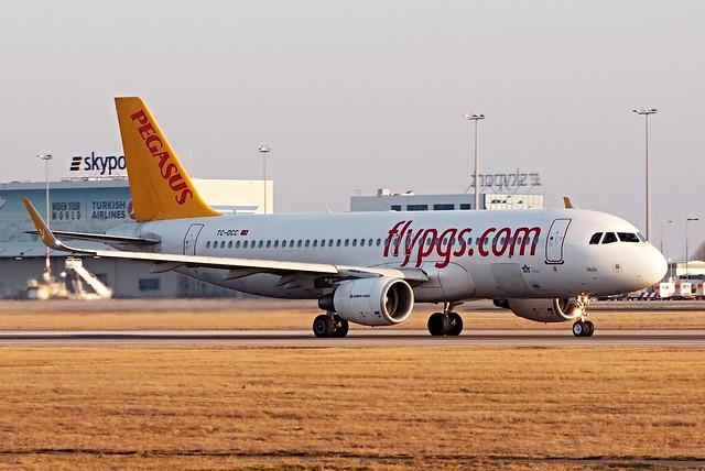 Airbus A320-214(SL)  TC-DCC — Pegasus Airlines