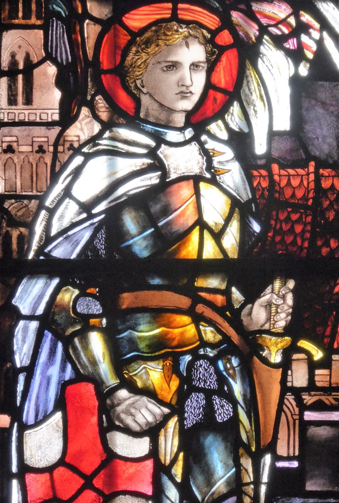 Winchester Cathedral, Edward Henry Swinburne Bligh Memorial: St George
