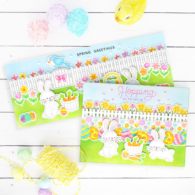 bunny cards together