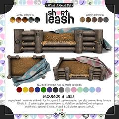 .:Short Leash:. MooMoo's Bed