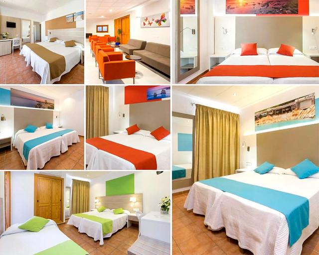 Hotel Adelino, uno de los sitios baratos donde dormir en Ibiza