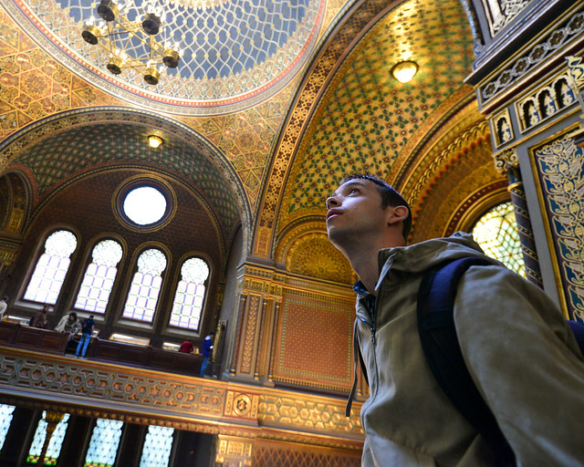 Diario de un Mentiroso en la Sinagoga Española de Praga
