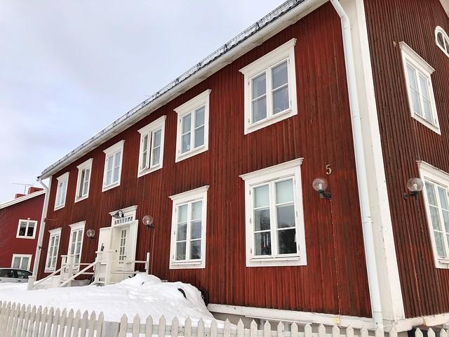 Casa rica en Gammelstad (Suecia)