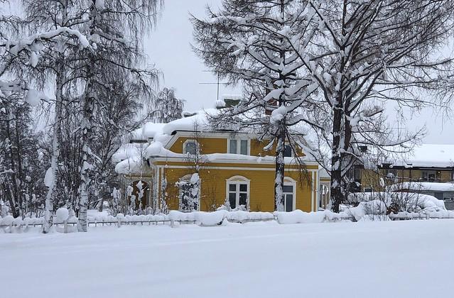 Casa de Jokkmokk (Laponia Sueca)