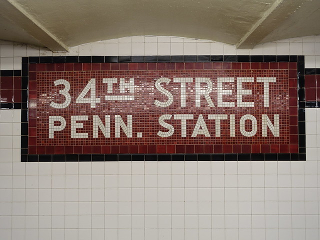 202103025 New York City subway station '34th Street–Penn Station'