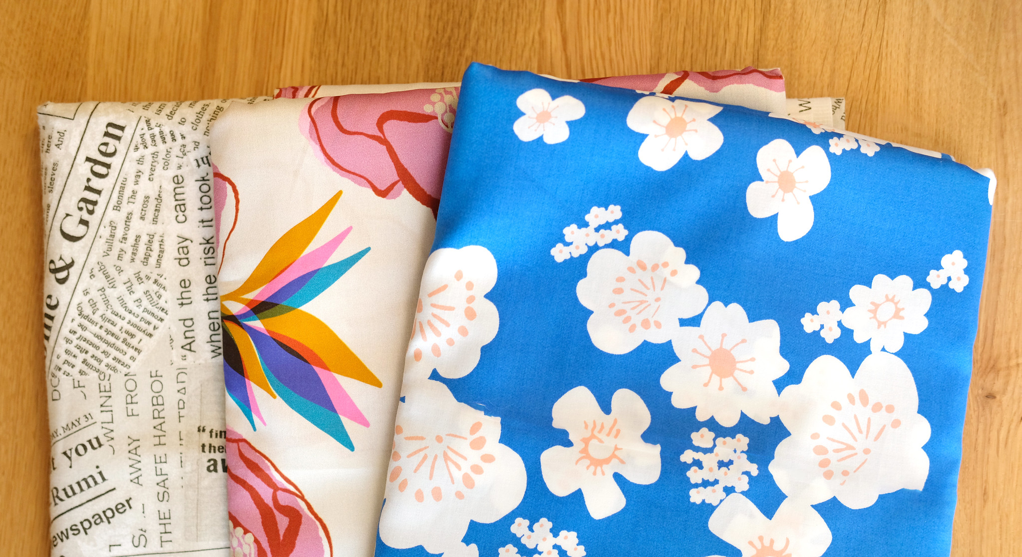Building Your Fabric Stash - Backing Fabrics - Kitchen Table Quilting