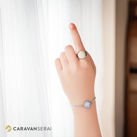 指輪とブレスレット  | 陶華(TOHCA) 日本で唯一の陶磁器製カメオの製造・販売