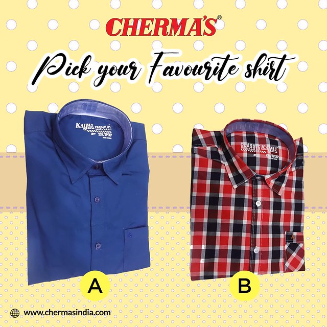 Pick your Favourite Shirt.