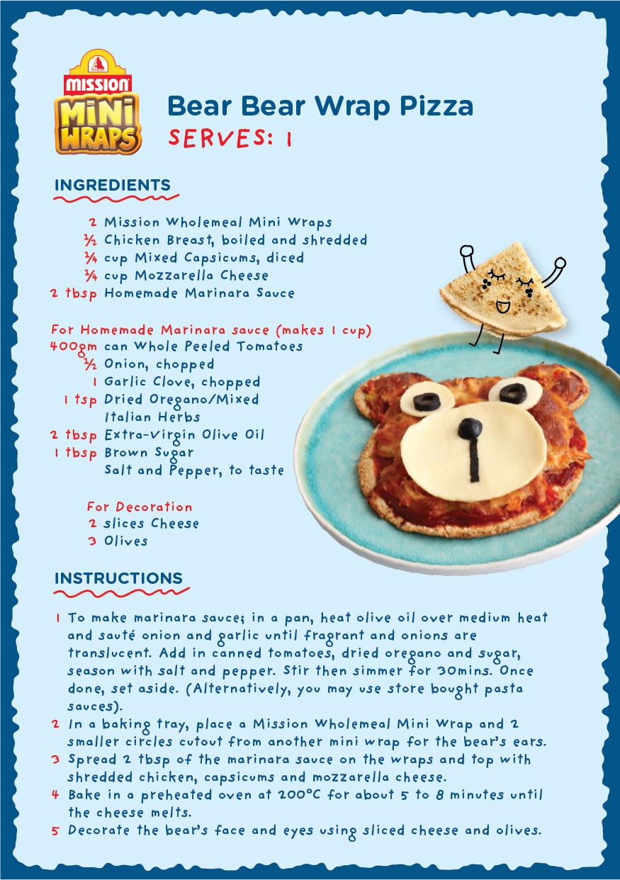 Bear Bear Wrap Pizza2