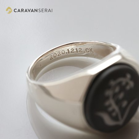磁器婚の指輪| 陶華(TOHCA) 日本で唯一の陶磁器製カメオの製造・販売