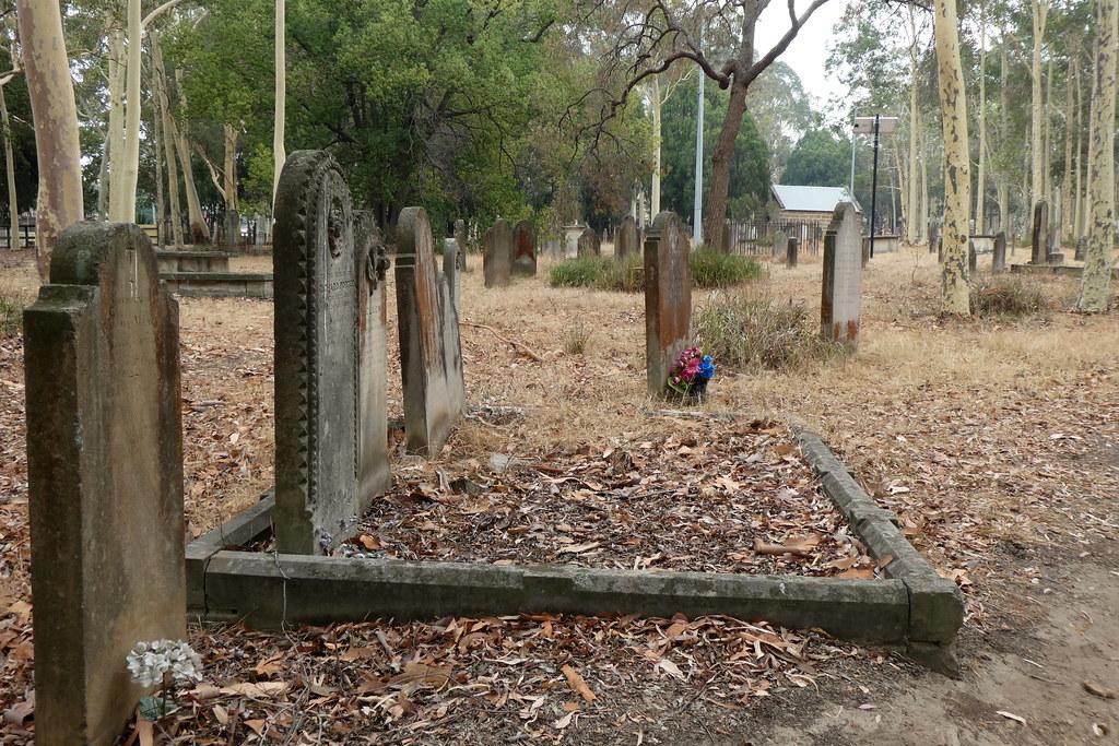St. Patrick's Friedhof 1822 - 1972