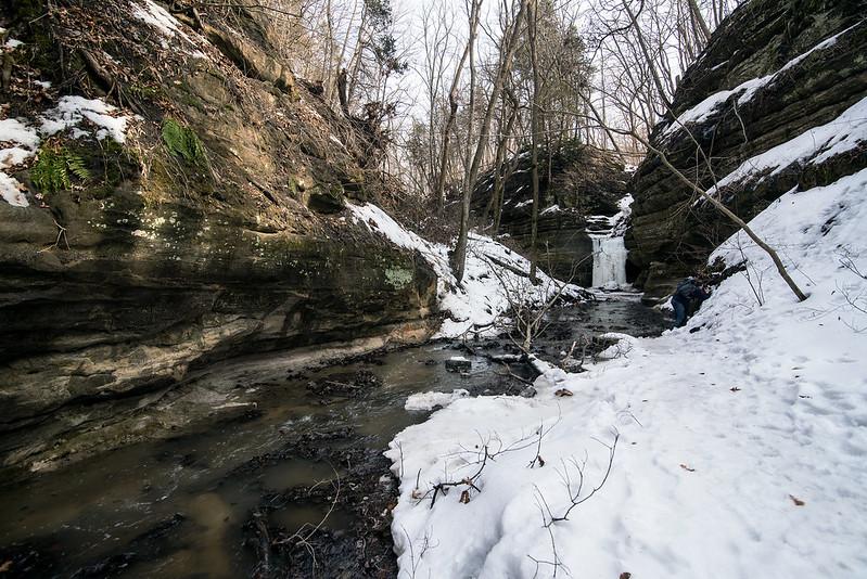 Approaching the Waterfall