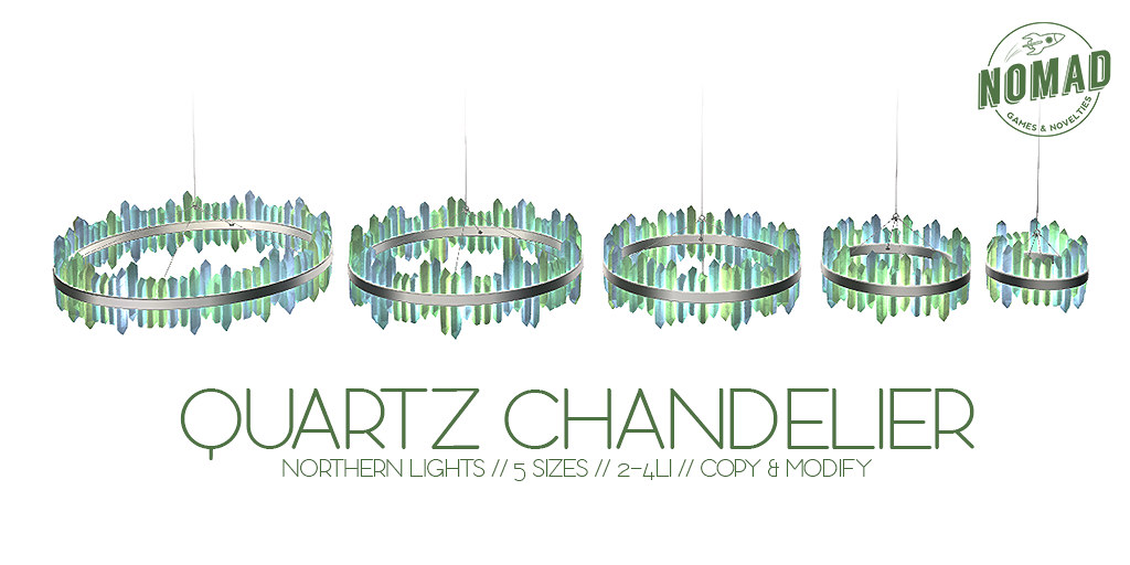 NOMAD // Quartz Chandelier @ C88