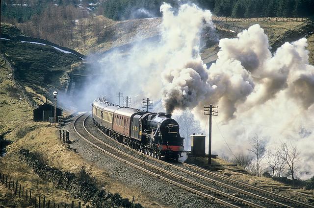 Black Five Drama At Blea Moor Tunnel North.