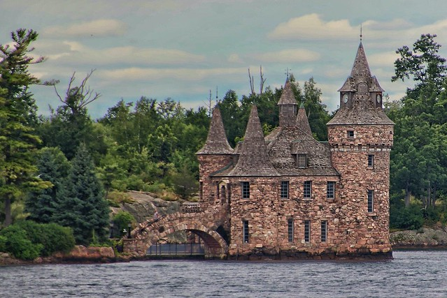 Boldt Castle Power House - Heart Island - Thousand Island - Gananoque Ontario - Canada