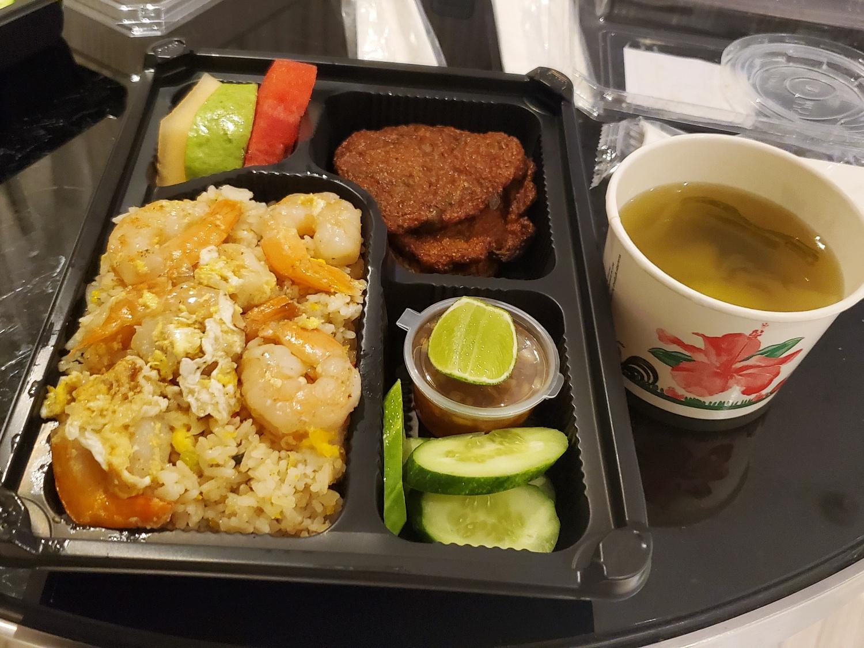 Centara Hotel Bangkok Quarantine meal